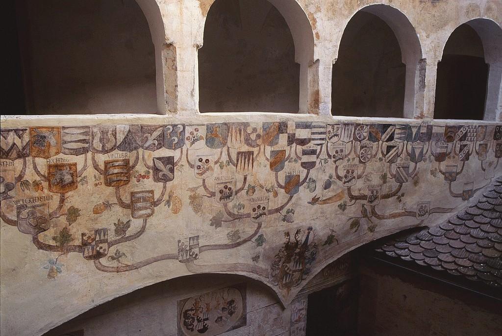 Dipinti Murali Stemmi Iscrizioni Beni Culturali Amministrazione Provinciale Provincia Autonoma Di Bolzano Alto Adige