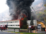 Incendio industriale